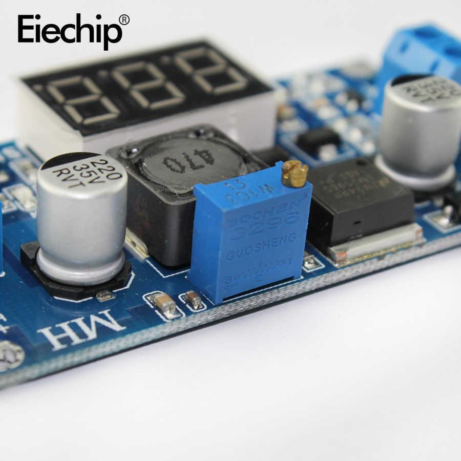DC 降圧モジュール LM2596 DC-DC 4.0 〜 40 1.25-37V 調整可能な電圧レギュレータへ LED 電圧計 DC-DC 2A 回路ボード