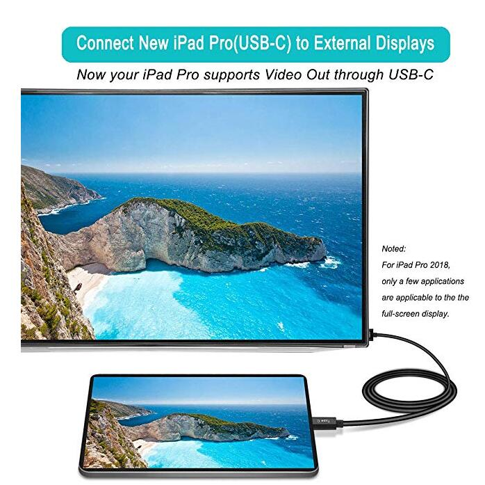 USB C Thunderbolt 3 to HDMI Adapter Cable 4k Video Output for MHL Phone Table Laptop to TV Monitor Projector