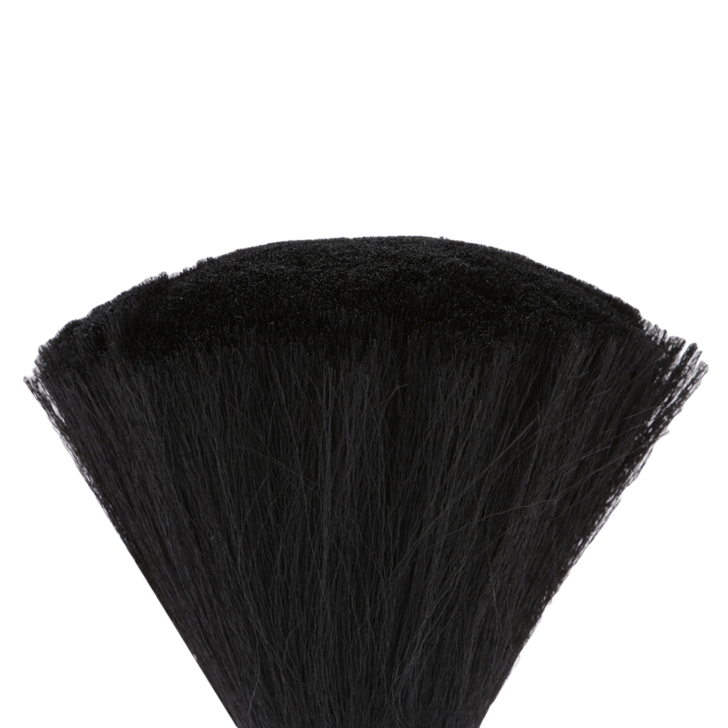 Image 3 - 1PC Professional Soft Black Neck Face Duster Brushes Barber Hair Clean Hairbrush Salon Cutting Hairdressing Styling Makeup Tool-in Combs from Beauty & Health