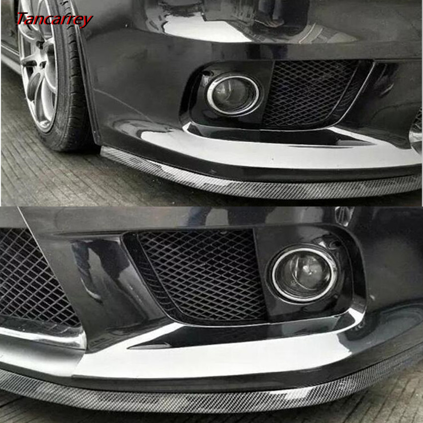 Car Front Bumper Protector Rubber Strip For Mercedes W203 W204 W205 W211 Benz Cadillac ATS SRX CTS For Lexus RX RX300 Porsche