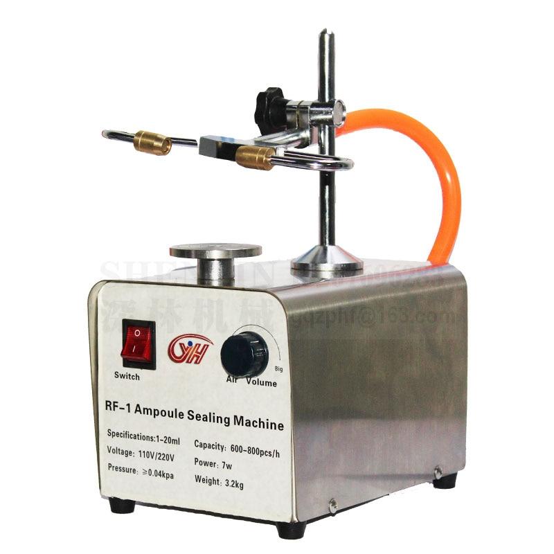 Szklana rurka zgrzewarka na gorąco  laboratoryjna ampułka maszyna uszczelniająca ręczna zgrzewarka ampułki  bursztynowa fiolka maszyna uszczelniająca  110 V/220 V w Zestawy elektronarzędzi od Narzędzia na title=