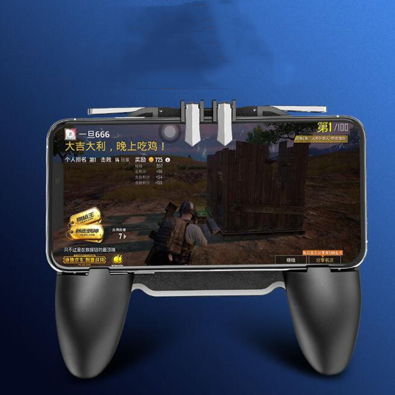 For Pubg iPhone Android Smartphone Cell Phone Mobile control Joystick Gamer Android Game pad controller Cooler Cooling Fan in Gamepads from Consumer Electronics