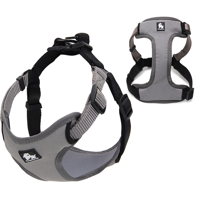Truelove Padded reflective dog harness vest Pet Dog Step in Harness Adjustable No Pulling pet Harnesses for Small Medium dog