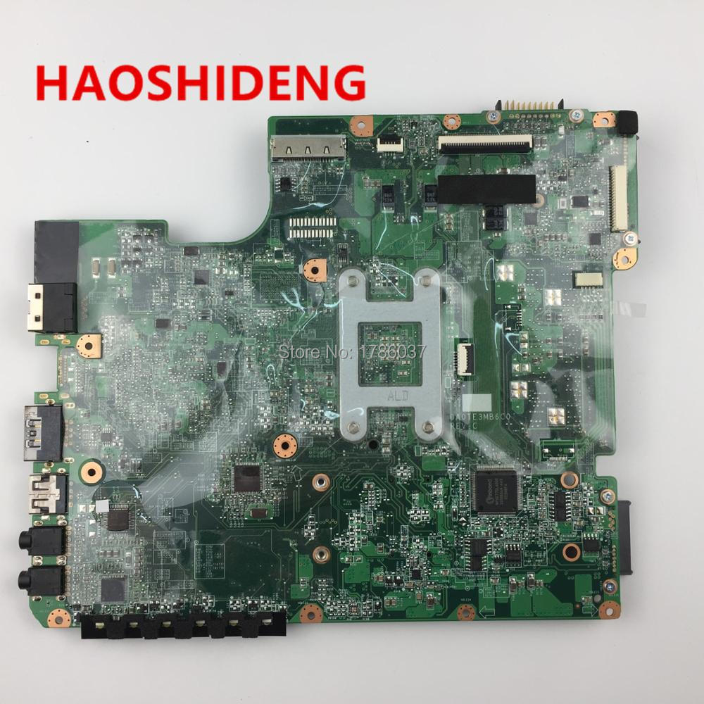 A000073410 For Toshiba Satellite L640d L645d Motherboard Da0te3mb6d0 Lcd Led Laptop C600 C640 L600 L640 L645 L740 L745 Da0te3mb6c0all Functions 100 Fully Tested In Motherboards From Computer Office On