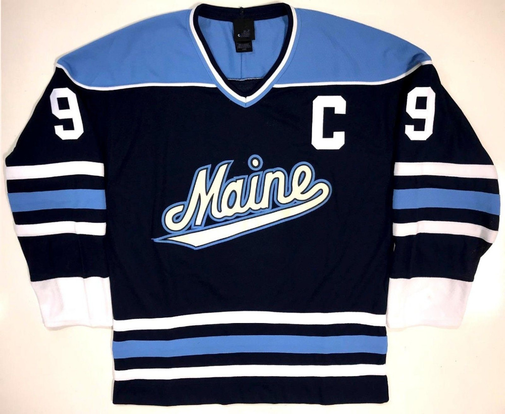 new arrivals e025b edb2d US $42.49 15% OFF|MAINE BLACK BEARS JIMMY HOWARD PAUL KARIYA Hockey Jersey  Embroidery Stitched Customize any number and name-in Hockey Jerseys from ...