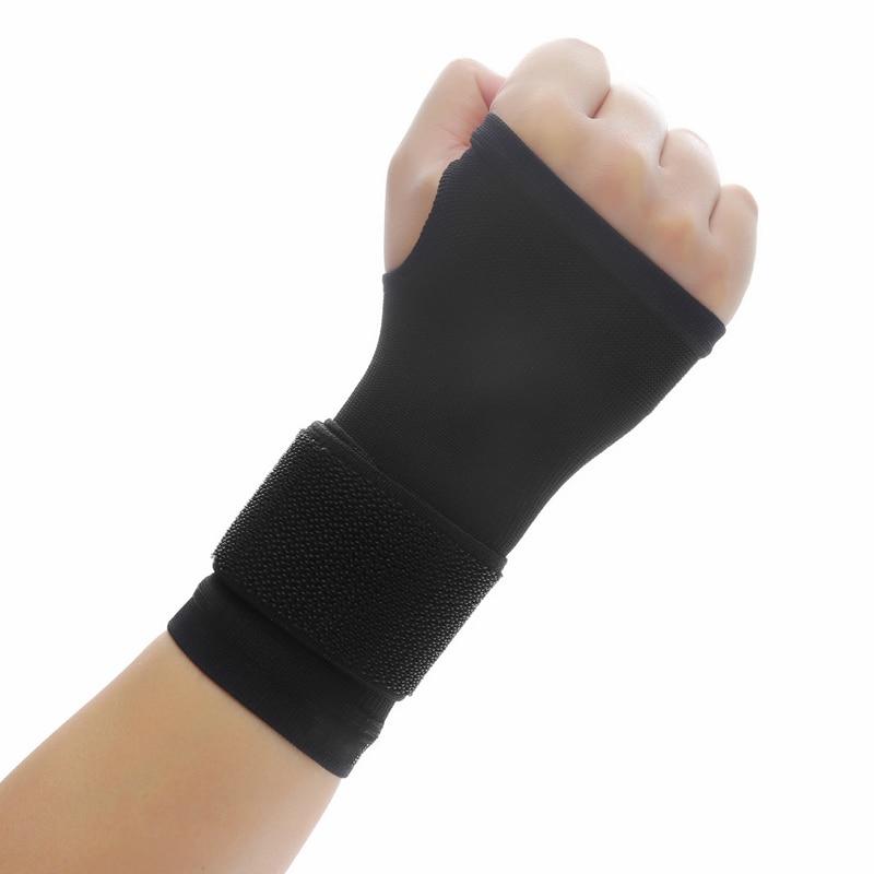 1pcs Ultrathin Detachable Wristband Compression Wrist Support Fitness Yoga Wrist Wraps Hand Brace Gym Accessories Zweetband Pols