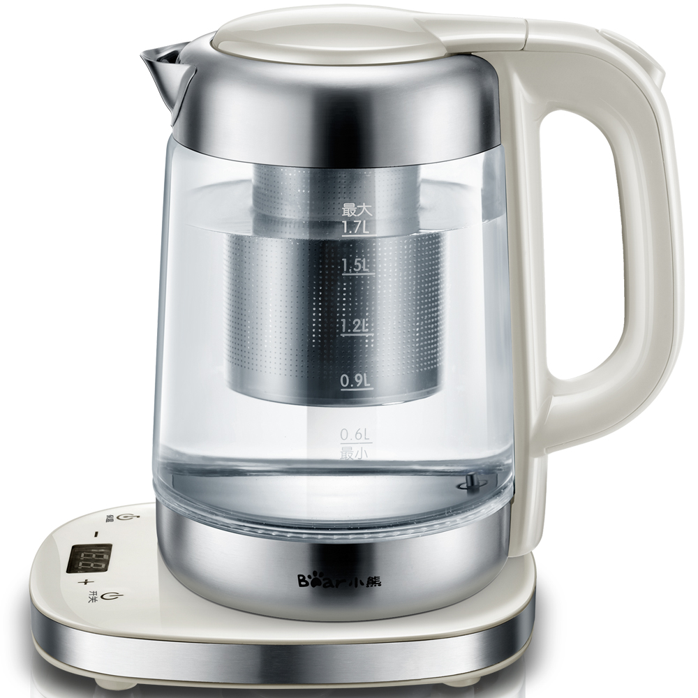 цена на Electric Kettle Water Heater Kettle Filter 1.7L Automatic Insulation Electric Tea Pot Kettle Boiler Office Household ZDH-A17J1