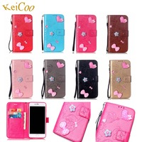 Touch 6 Book Flip Mobile Protect Covers For Apple Ipod Touch 6 4 Wallet Card Slots