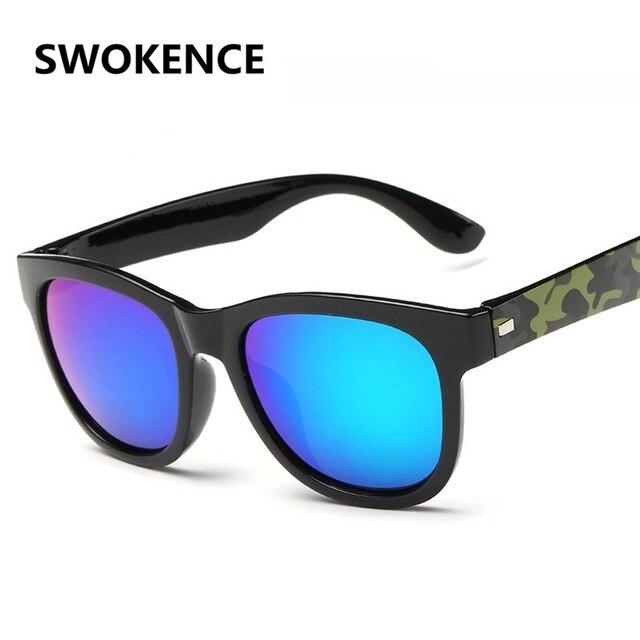SWOKENCE Mode Étoile Style lunettes de Soleil Hommes Femmes Classique  Designer Casual de Conduite en Plein 87409fe4246b