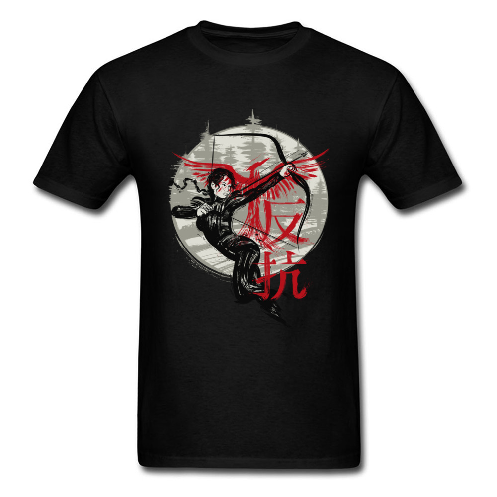 Rebellion Woman 2018 Mens Cool Tee Shirt Cotton T-shirt Chinese Warrior Print Male Unique Casual Tops O Neck