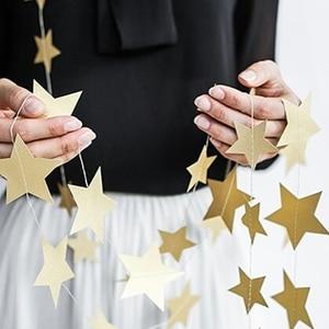 Image 5 - 12 bandeiras pacotes de aniversário, bandeiras com 18cm rosê douradas guirlanda de casamento bandeiras de decoração de festa suprimentos