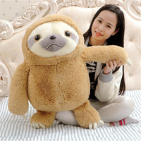 40CM One Piece Sloth Super Soft PP Cotton Stuffed Plush Toy Birthday Gift Cute Bradypod Dolls Activities Valentine's Day Gifts