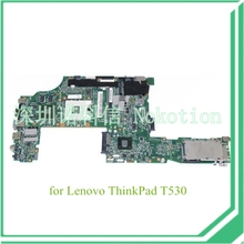 laptop motherboard for lenovo thinkpad T530 04W6824 QM77 nvidia NVS 5400M DDR3