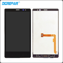 Black For Nokia X+ X2 RM-1013 X2DS Dual SIm LCD Display Touch Screen Digitizer Full Assembly Replacement Parts