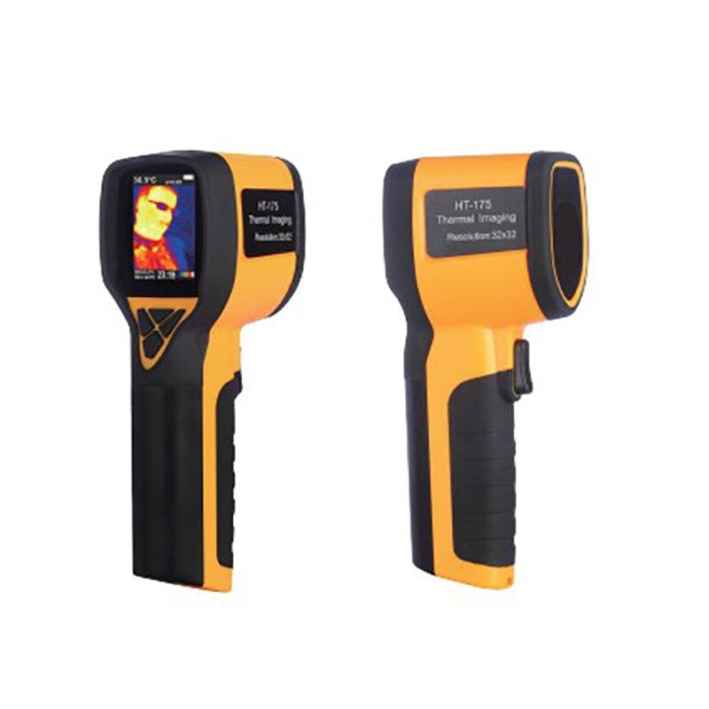 HT-175 caméra thermique numérique infrarouge IR imageur thermique caméra d'imagerie de température testeur haute résolution écran couleur