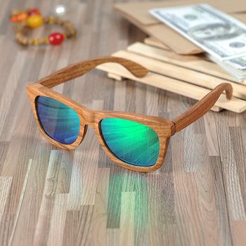 BOBO BIRD Square Sunglasses Men Women Retro Polarized Wood Sun Glasses gafas de lujo de hombre 2