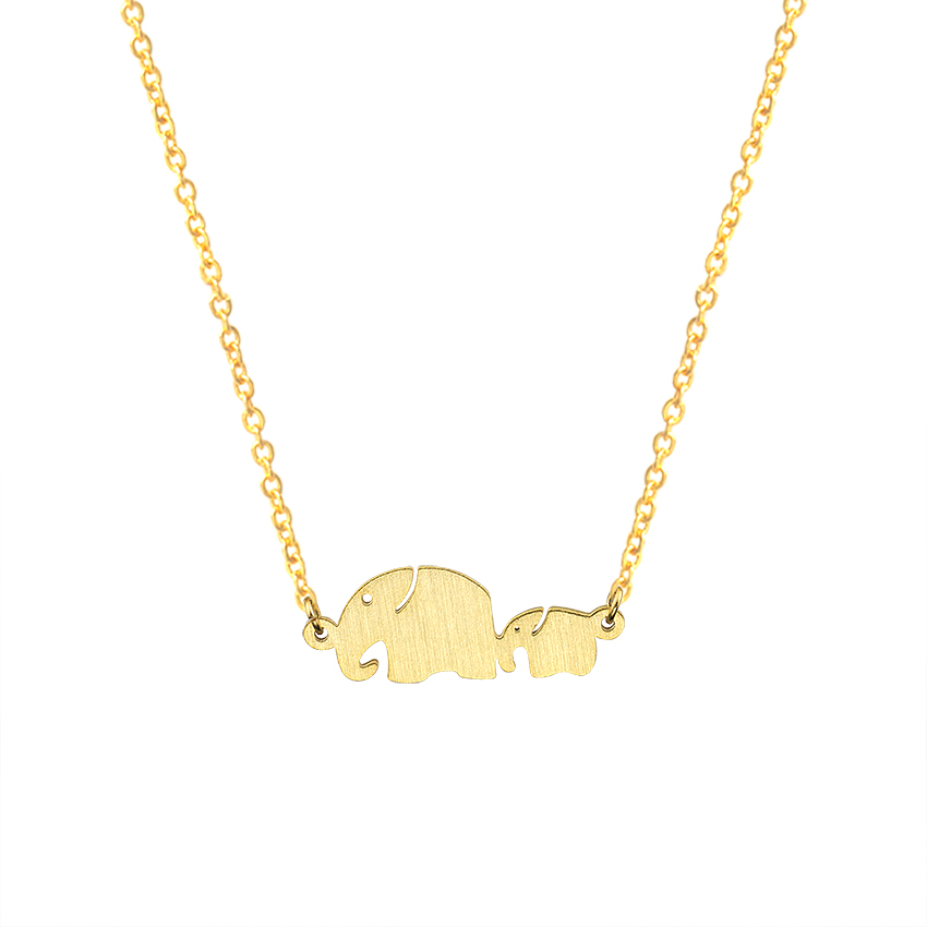 Mom And Baby Elephant Necklaces Pendants Women Fashion s