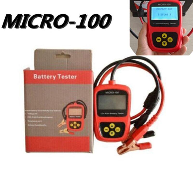 Hot Sale digital car battery tester Diagnostic Tools MICRO-100 12v Car capacity load tester analyzing