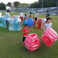 60cm Inflatable Bubble Buffer Balls Collision Body Bumper Ball Funny Outdoor Activity Running Game For Kids Adults