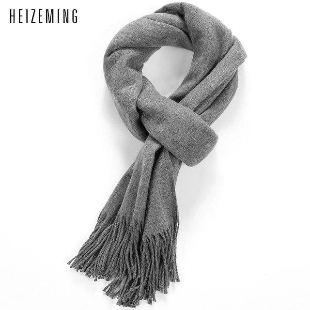2016 New Time-limited Solid Adult Fashion Acrylic >175cm Bufandas Winter Scarf Autumn Winter Scarves Men Scarf To Keep Warm