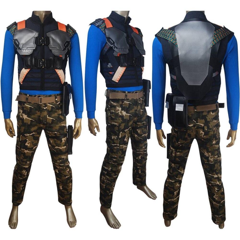 Black Panther Killmonger Erik Stevens cosplay supervillain Halloween costume full set superhero suit X'mas birthday gift outfit