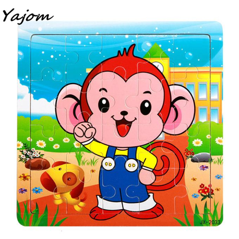 Puzzle toys Wooden Puzzle Educational Developmental Baby Kids Training Toy Brand New High Quality May 24