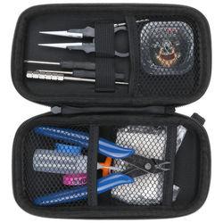 AU ST Coil Father Builder Vape Tool Kit Rta Rda Rba Sub Ohm Clapton jig coil Bag Electronic cigarette kit Durable Portable