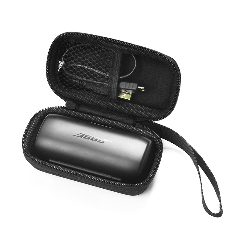 For Bose Sound Sport Free Wear-resistant Dirt-resistant Headphone Protective Bag Earphone Storage Box Compression Hard Shell