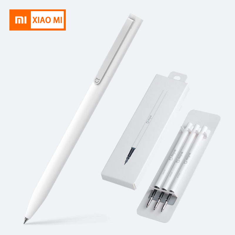 Xiaomi Pens With 0.5mm Swiss Refill 143mm Pens Rolling Roller Ball Mi Xiomi Sign Signing Ballpoint Birthday Gift Son Girl Pens Xiaomi Pens With 0.5mm Swiss Refill 143mm Pens Rolling Roller Ball Mi Xiomi Sign Signing Ballpoint Birthday Gift Son Girl Pens