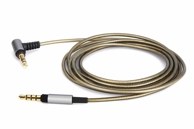 af7cf85d9b8 4ft/6ft Replacement upgrade Silver Audio Cable For SONY WH-1000XM2 1000XM3  WH-