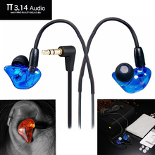 DIY3.14 Wired headset 3.5MM Hifi earphone stereo earphones Professional Concert ecouteur earbuds fone de ouvido Bass auriculares