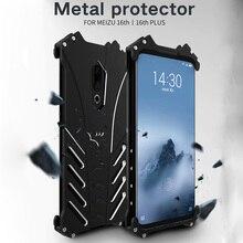 Meizu 16th Case Original R-JUST Batman Armor Aluminum Metal For Meizu 16th Plus Meizu 16 Case Shockproof Coque