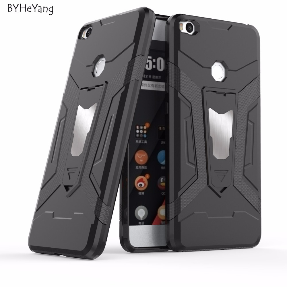 BYHeYang For Xiaomi Mi Max 2 Case Xiaomi Max 2 Cover Car