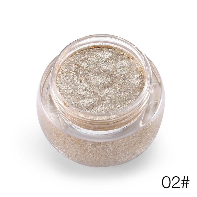 0 (2)  LOVE ALPHA 3D Glitter Eyeshaow Gel Metallic Powder Pigment Make-up 5 Choice Fragrance Cream Highlighter Shining Maquiagem Palette HTB1q