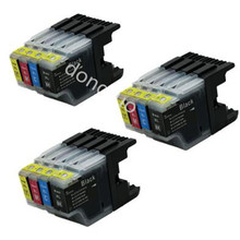 12x LC1240 LC1280 ink cartridge for Brother MFC J430W J825DW J5910DW J625DW J6510DW J6710DW J6910DW J6710DW