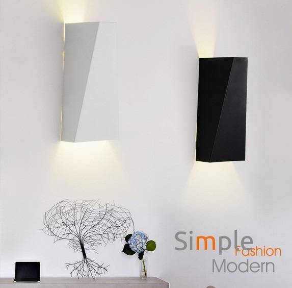 Fashion Modern Wall Sconce Simple LED Wall Light For Home Lighting Bedside Wall Lamp Integrated Lampe Murale simple fashion modern wall sconce creative acrylic led wall light for home lighting bedside wall lamp integrated lampe lampara