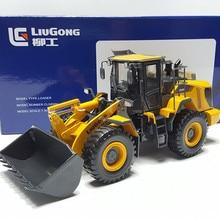 Редкий Коллекционный Литой под давлением игрушечный подарок 1:35 масштаб Liugong 856H колесный погрузчик строительная техника игрушка для украшения