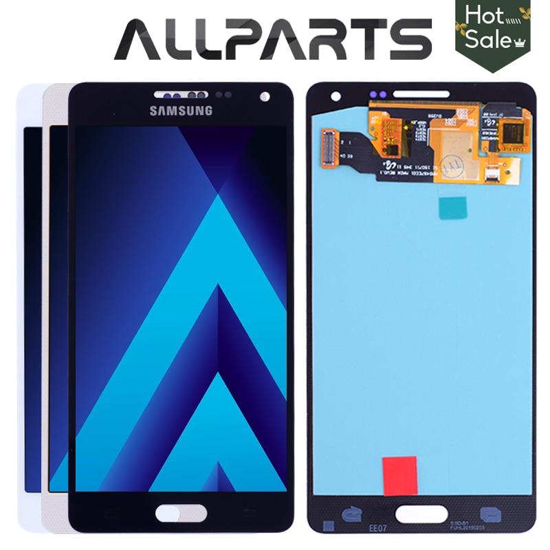 Display AMOLED LCD para SAMSUNG Galaxy A5 2015 A500FU A500 A500F A500M Tela Sensível Ao Toque de Substituição Digitador Para SAMSUNG Galaxy A5