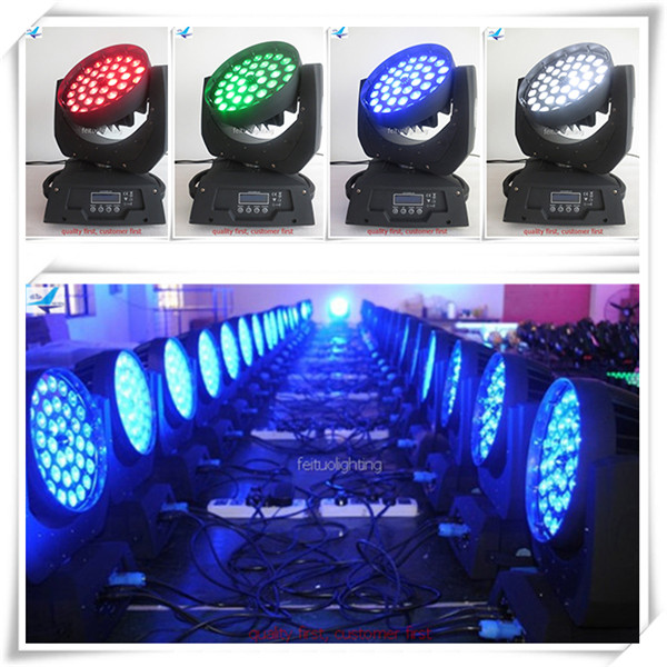 Stage lights led 36x10w wash feituo led wash 36x10 rgbw zoom moving head light