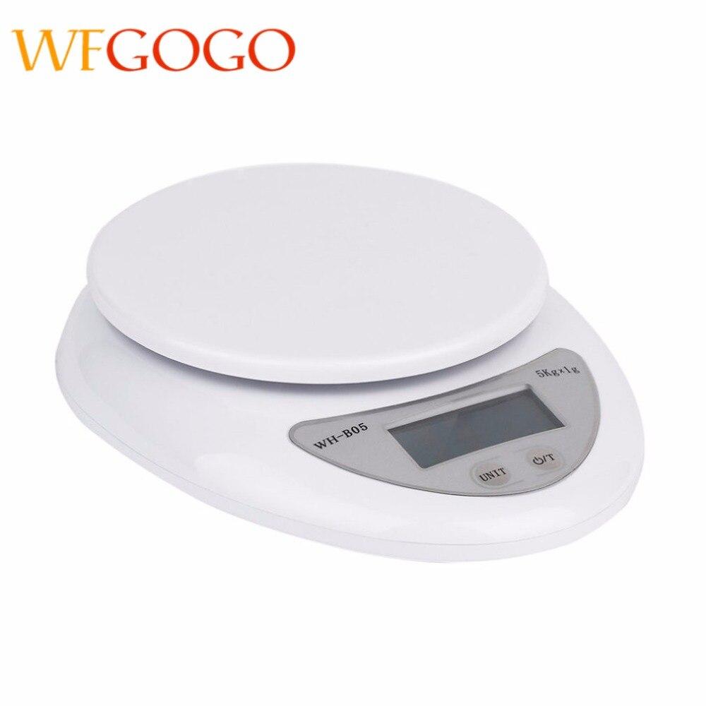 ميزان إلكتروني رقمي إضاءة خلفية للمطبخ 5 كجم/1 جم بسعر خاص ، موازين محمولة بخطاف كجم رطل أوز ، ميزان غذائي بريدي