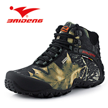 Waterproof Men Boots 2016 Fashion Leather Fur Boots Winter Nubuck Leather Warm Men Shoes Outdoor hiking boots