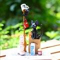 Serviço de Entrega de Kiki Hayao Miyazaki Studio Ghibli Jenga/Animal Empilhador PVC Figura de Ação Brinquedo Do Bebê Bonecas