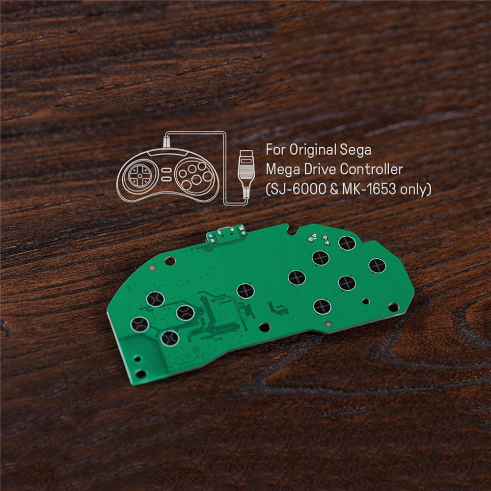 8 BitDo Mod Bluetooth Kit teile für Sega Mega Drive Controller DIY MD Controller Gamepad NS konsole Zubehör
