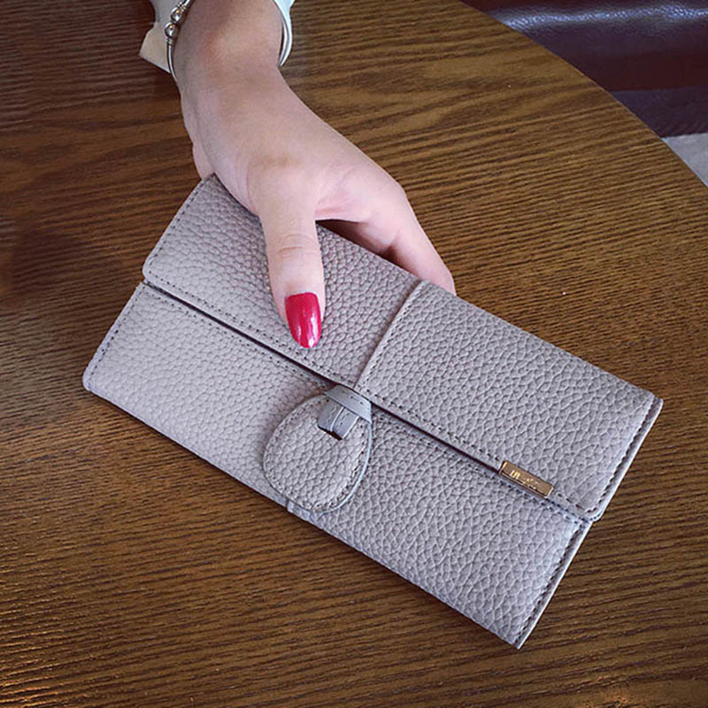 New Design PU Leather Wallets Women Brand Long Purses Woman Wallet Female Purse Coin Card Holder Clutch Bag Feminina Carteira double zipper men clutch bags high quality pu leather wallet man new brand wallets male long wallets purses carteira masculina