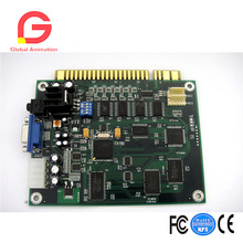 Classical 19 In 1 Horizontal Jamma Arcade Game PCB 19 in 1 horizontal multicade multigame game board pcb circuit board for jamma video game