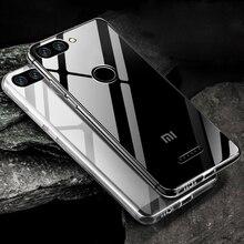 Silicon Soft TPU Case For Xiaomi Mi 9 SE Mi 8 Lite Mi 6 Transparent Phone Case For Xiaomi Redmi Note 7 6 5 Pro Full Cover Case case for redmi note 5 6 pro case ultra mi 8 9 se lite note 7 soft tpu silicon case for xiaomi redmi 6a 4x note 4 5 plus 5a case