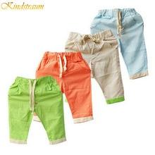 2017 New Retail Hemp Cotton boys summer shorts children brand beach shorts kids casual shorts drop