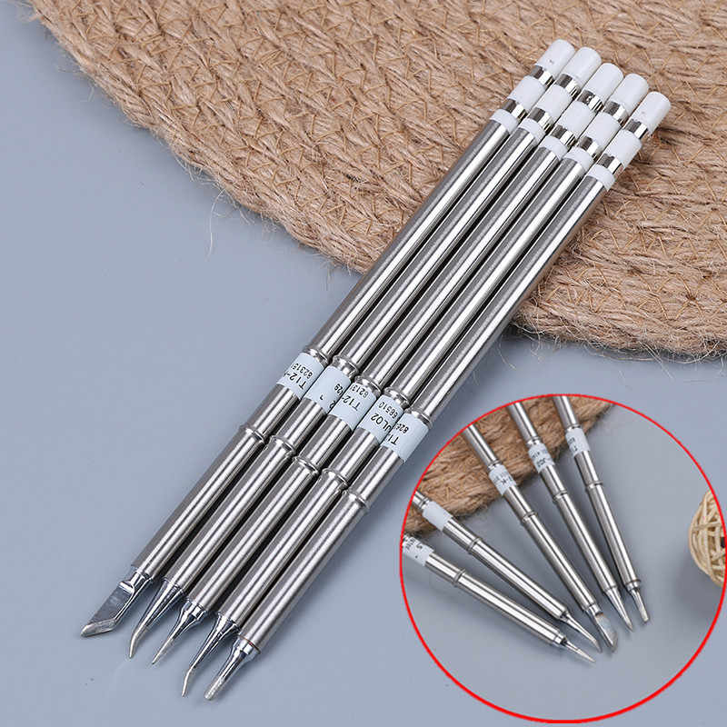 T12 BC2/J02/JL02/KR/ILS Soldering Iron Tips For Soldering Rework Station