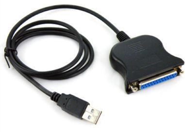 High Quality New USB to DB25 Female Port Print Converter Cable LPT. Free & Drop Shipping!