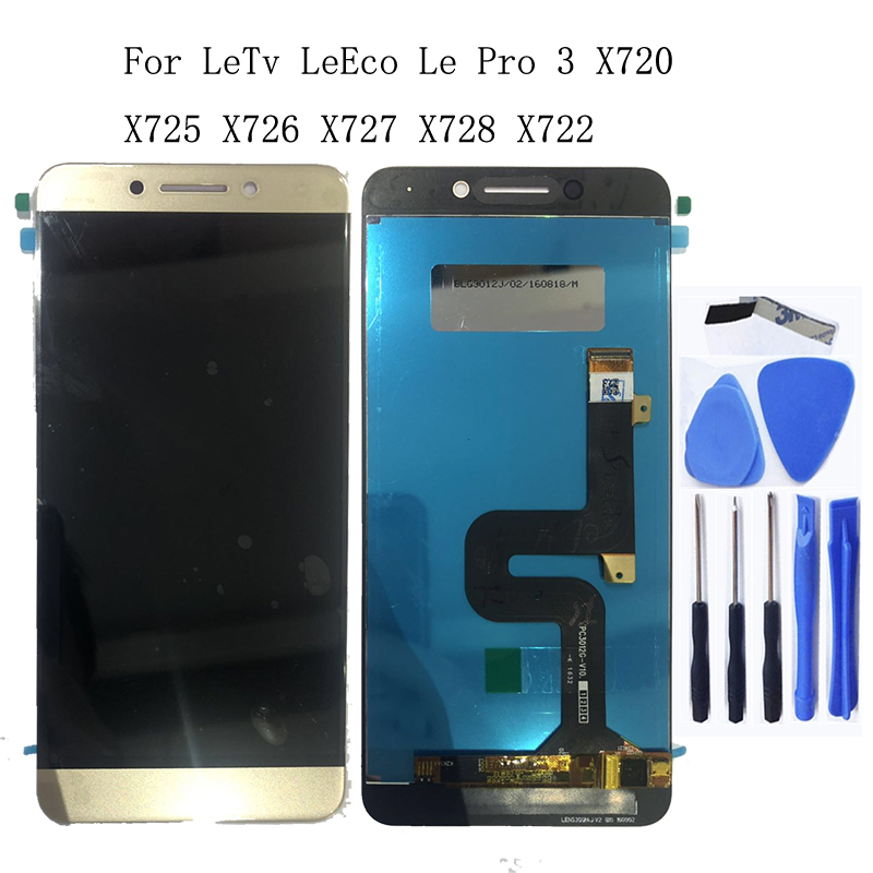5.5 inch original LCD monitor for LeTV LeEco Le Pro3 X720 X725 X727 X722 X728 x726 LCD display for touch screen accessories+Tool-in Mobile Phone LCD Screens from Cellphones & Telecommunications